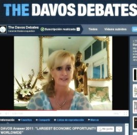 Sandra Rupp in The Davos Debates 2011 Video