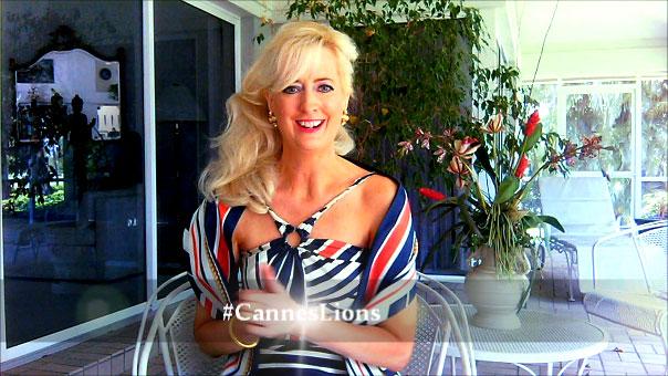 Sandra Rupp #CannesLions