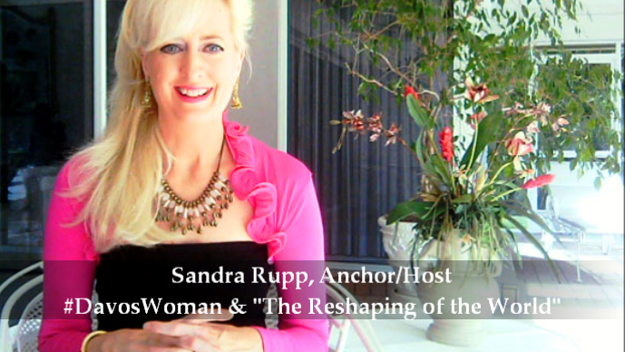 Sandra Rupp, Anchor/Host