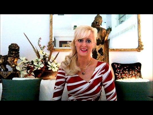 Sandra Rupp Filming Olympics Video