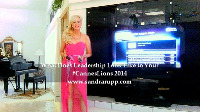 Sandra Rupp, #CannesLions