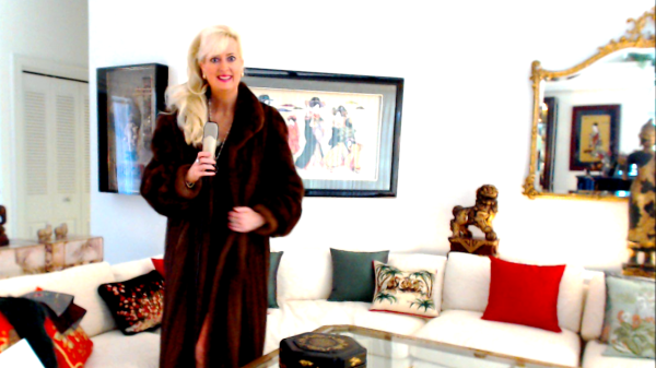 Sandra Rupp Ready for Davos CLICK TO VIEW