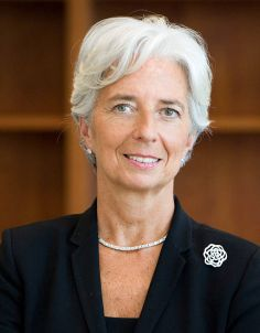 Christine Lagarde, Head of IMF
